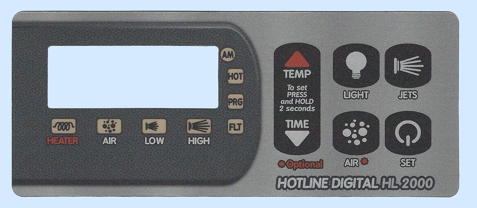 HL2000 Digital Spa Side Control