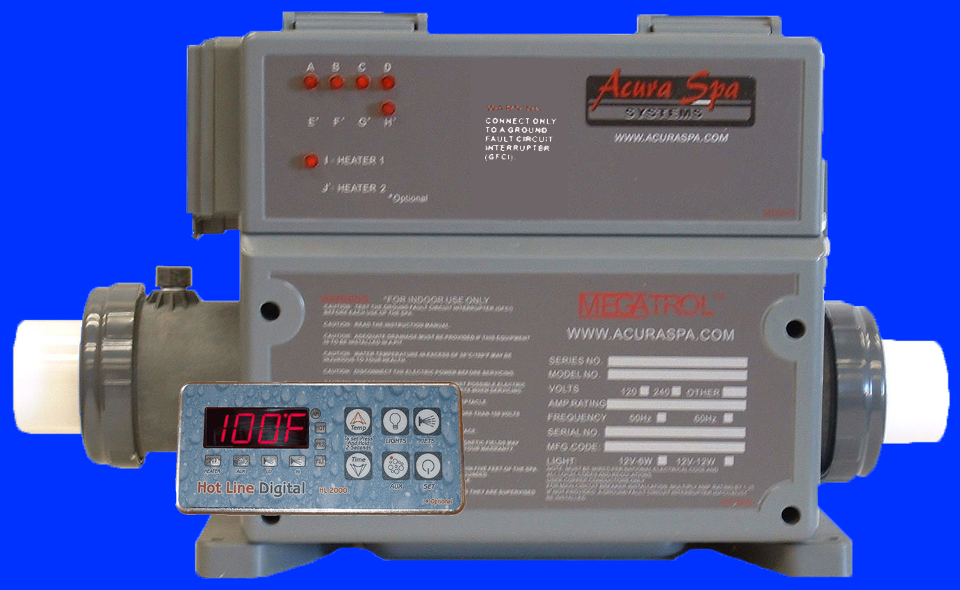 Hot Tub Control For  269 95  Spa Pump For  114 95  Spa