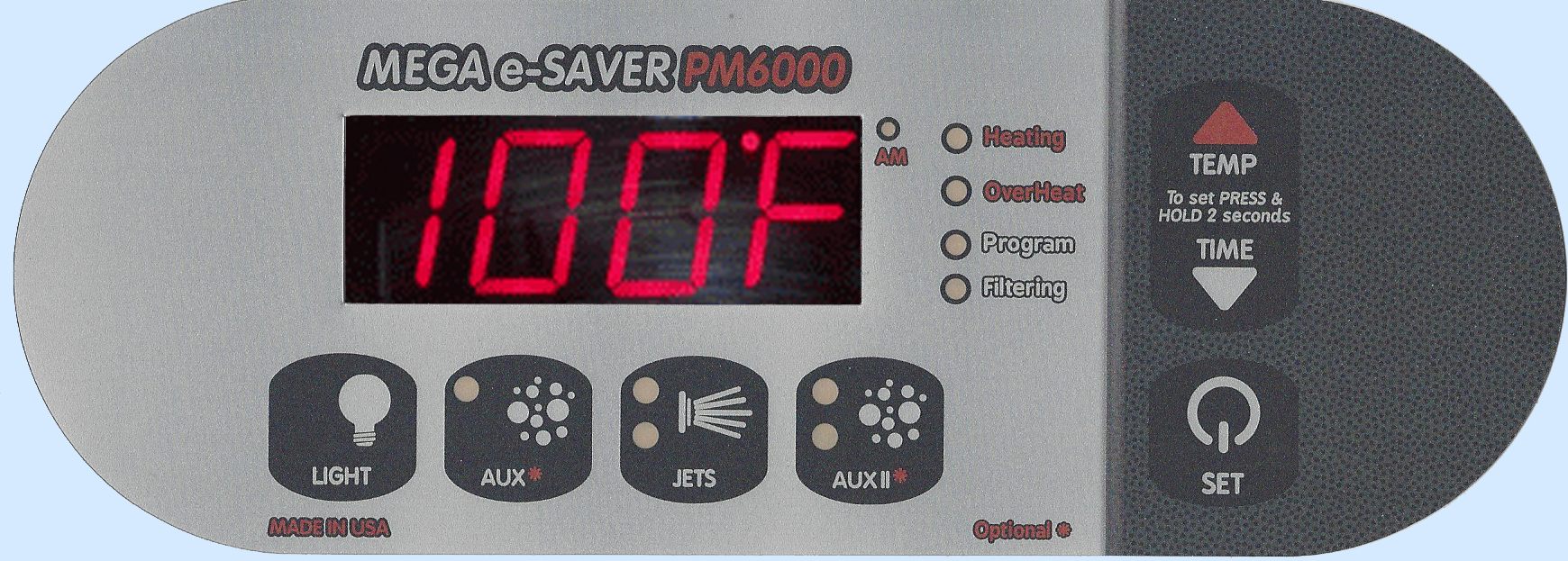 PM6000 Digital Top Side Control