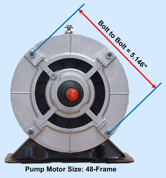 BN61 Thru-Bolt Dimensions