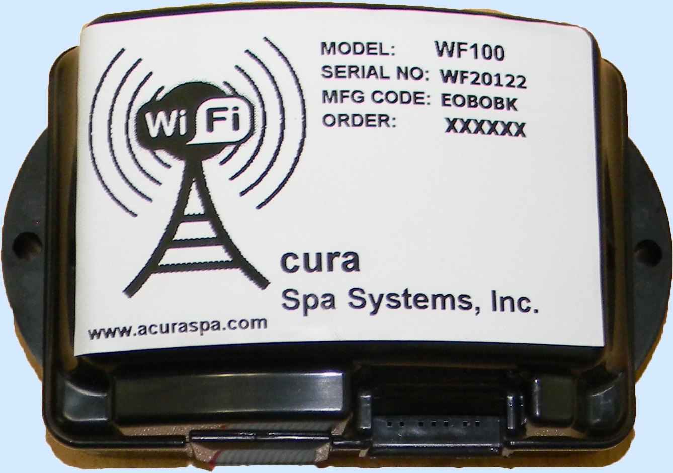 WF100 Wi-Fi Digital Spa Side Control