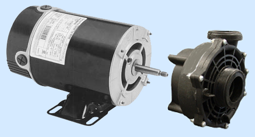 B2235 56-Frame Motor + Spa Pump Wetend