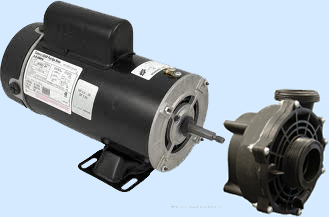 BN61 48-Frame Motor + Spa Pump Wetend