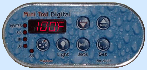MN2000 Digital Spa Side Control